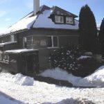 radana ubytovanie Štrba dom spredu zima
