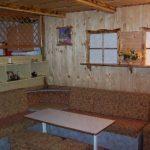 radana ubytovanie Štrba domček gauč